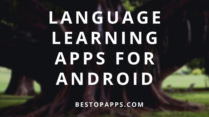 Language learning apps for android