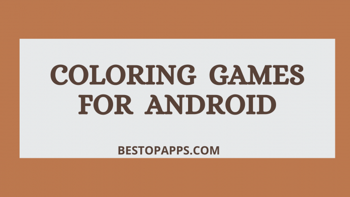 Coloring Games for Android