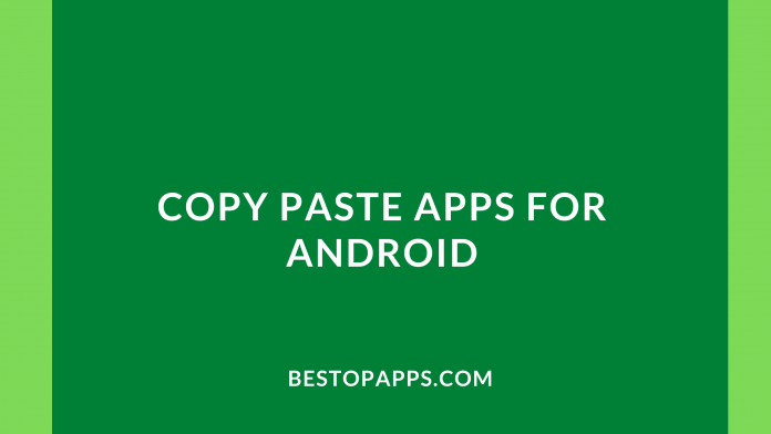 Copy Paste Apps for Android