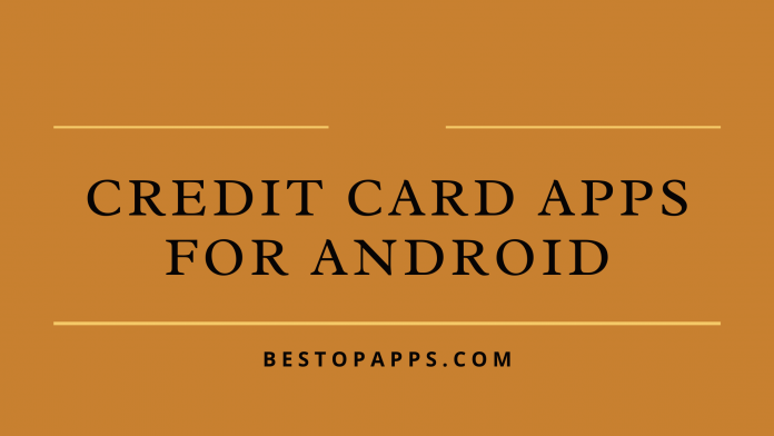 Credit Card Apps for Android