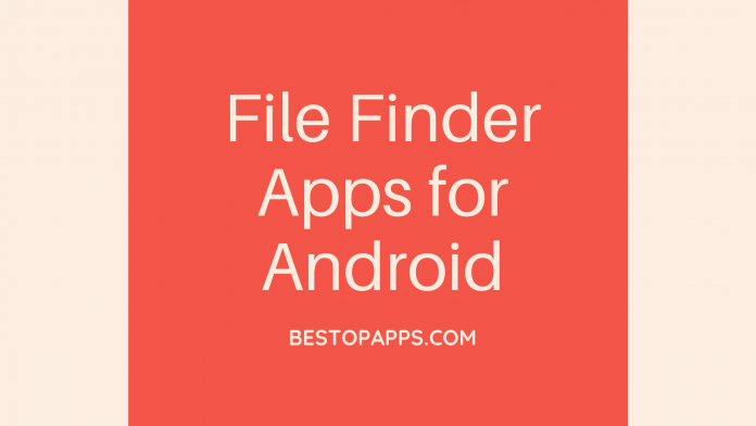 File Finder Apps for Android