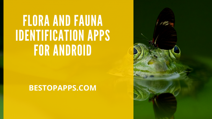 Flora and Fauna Identification Apps for android