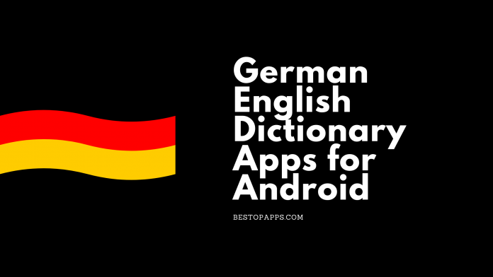 German English Dictionary Apps for Android