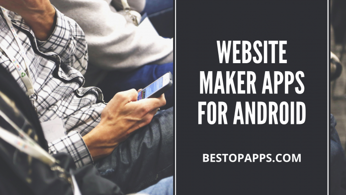 Website Maker Apps for Android